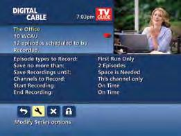 either until you delete or delete automatically when space is needed Change the start and end times in order to catch every minute of a program, even if it runs over From Listings Select your