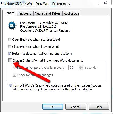 Then you will maybe need to log off from your EndNote library in order to get it to work. An alternative is to share your entire library.