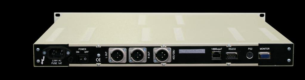 AST/ASR-1000 Audio Streamer over IP Provides Audio transmission over IP connection Supports Analog audio