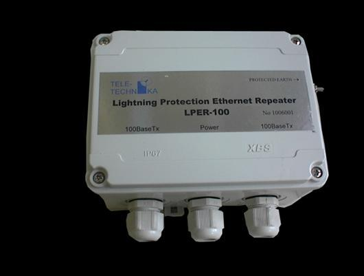 LPER-100 Ethernet Repeater Useful for regenerating the physical signals of OSI L1 layer.
