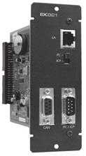 The card is integrated with various connectors to allow it to communicate with other system such as the ix 156E, ix 157E and ix 159E.