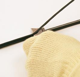 Repeat for the opposite side of the cable (again the thin side). 6B.
