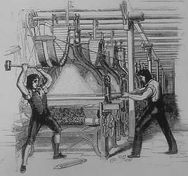 12. The Luddites Poverty Deteriorating working conditions Mechanical looms and spinners replacing skilled craftsmen led to outbursts of