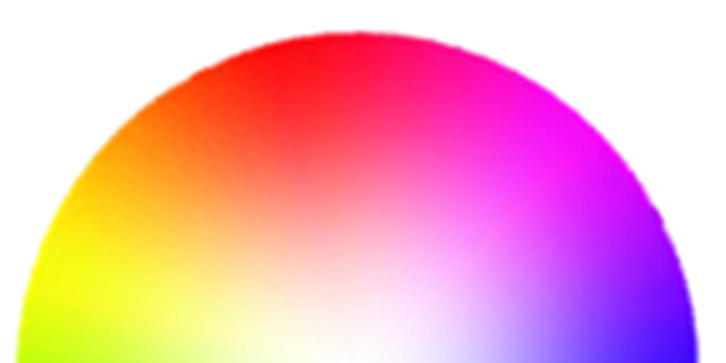 4-2. Technical description: About color saturation and hue The relation of Red, Green and Blue to each other is typically represented in the form of a circle.