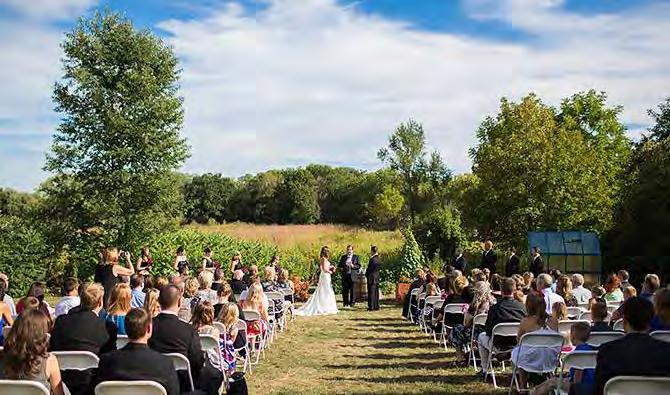 Rental Guidelines We are so pleased that you are considering the Aldo Leopold Nature Center to host your special day!