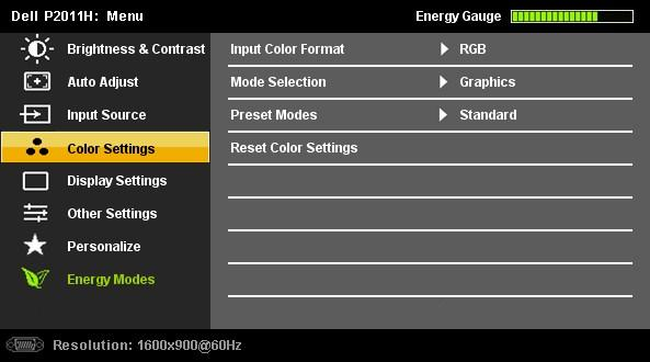 INPUT SOURCE Use the INPUT SOURCE menu to select between different video signals that may be connected to your monitor.