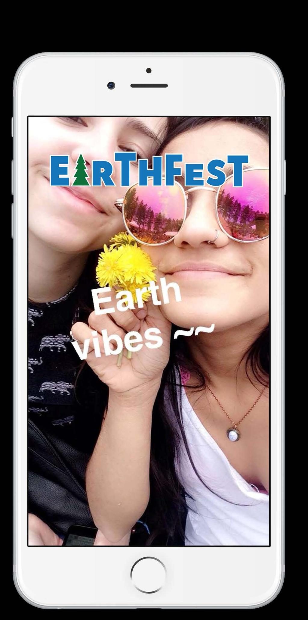 SNAPCHAT GEOFILTERS As a member of the marketing team for Students of Sustainability