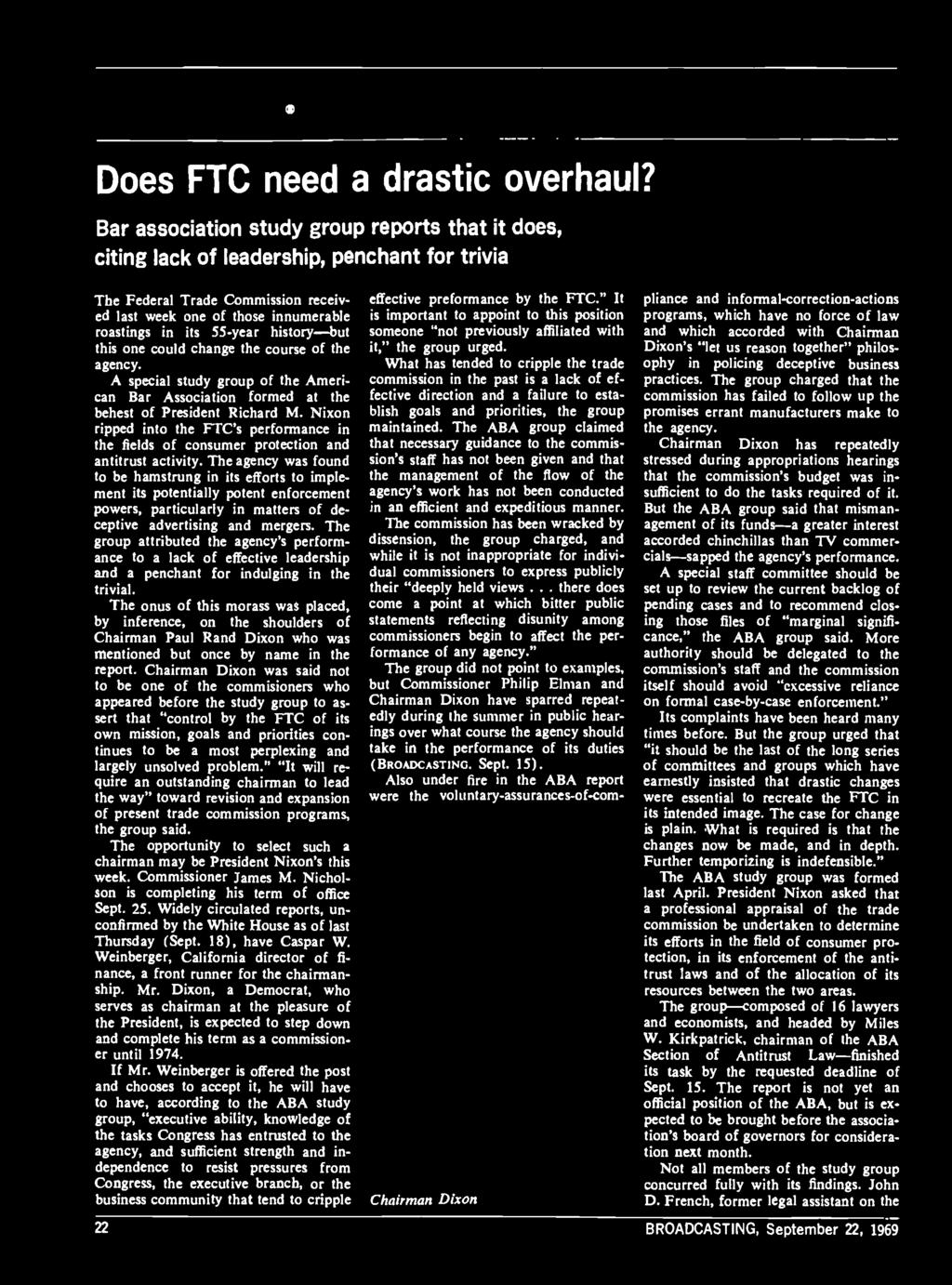 Bm a dc as tad ver tt s í ng Does FTC need a drastic overhaul?
