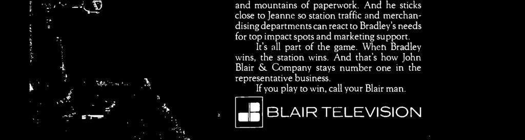 From Dick Wallace. Her Blair man.
