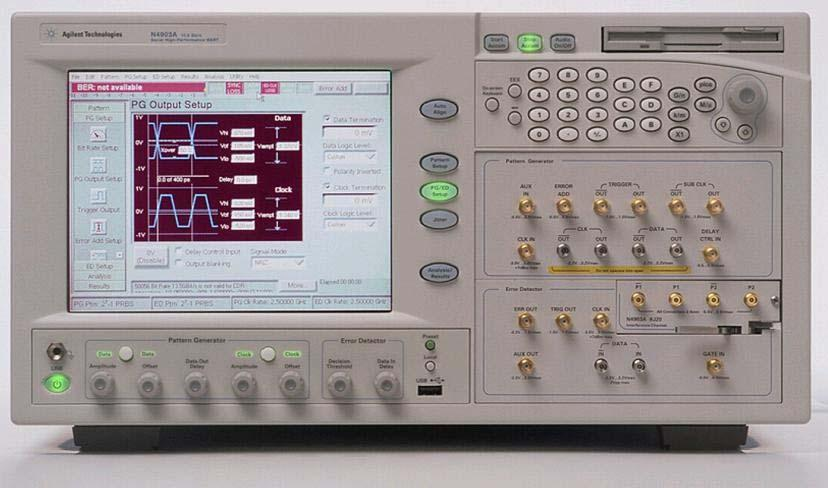 Appendix E Using the Agilent N4903A J-BERT as the Stressed Signal Generator (SSG) (Informative) Purpose: To document the various necessary setup and configuration procedures required when using the