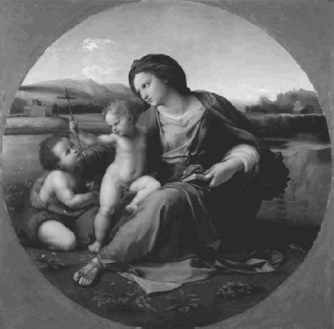 A Perfected Art : Music from the Earliest Notations to the Sixteenth Century 2 / 4 2011.01.27. 13:19 fig. 15-1 Raphael (Raffaelo Santi or Sanzio, 1483 1520), Alba Madonna, ca. 1510.