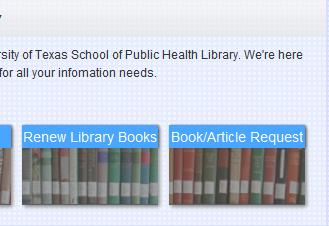 Renewing Items You can renew your books by going to your library record in the online catalog. To view your record: 1. From the Library s homepage, click on Online Catalog. 2.