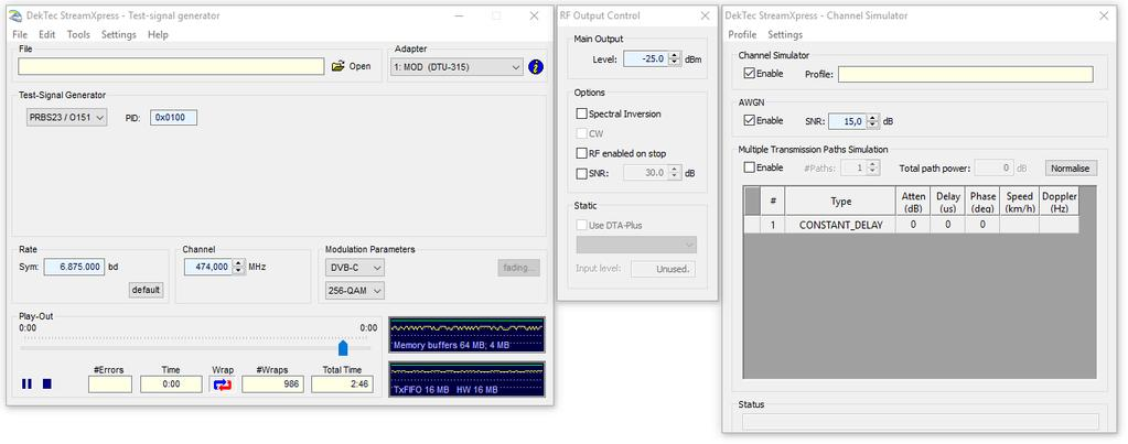 4.2.2. Spectrum-Analyzer Settings