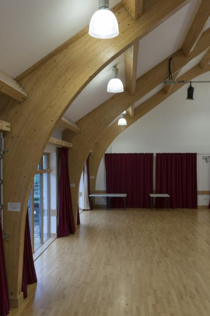 free-parking Friendly and supportive staff Central location in Crowborough Rooms The Main Hall The Main Hall is a delightfully light
