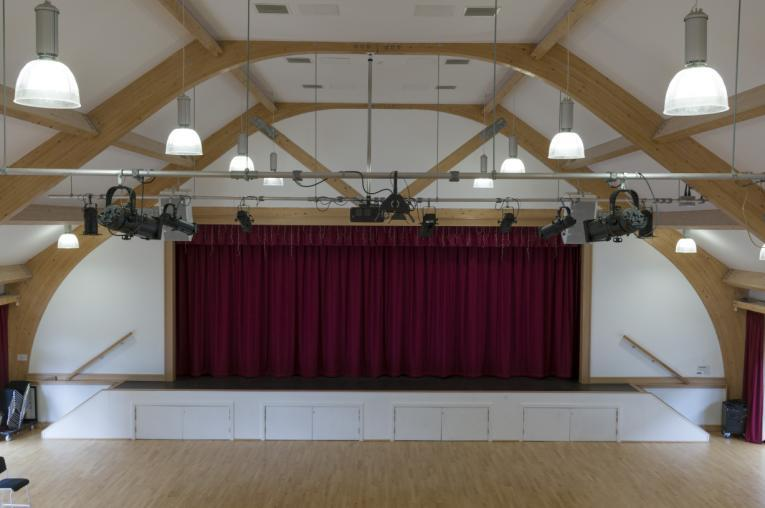 The Hall seats an audience of up to 300 people and features the following facilities: Fully equipped with sound and lighting systems