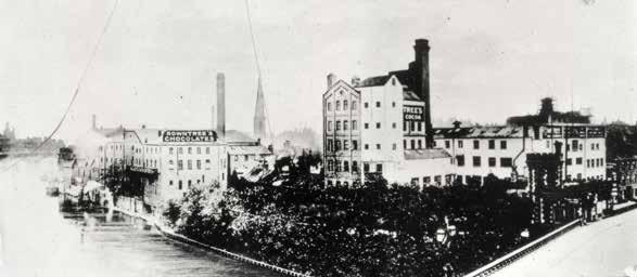 The Rowntree factory in the 1890s. working week for a manual worker was still 53 hours by 1943.