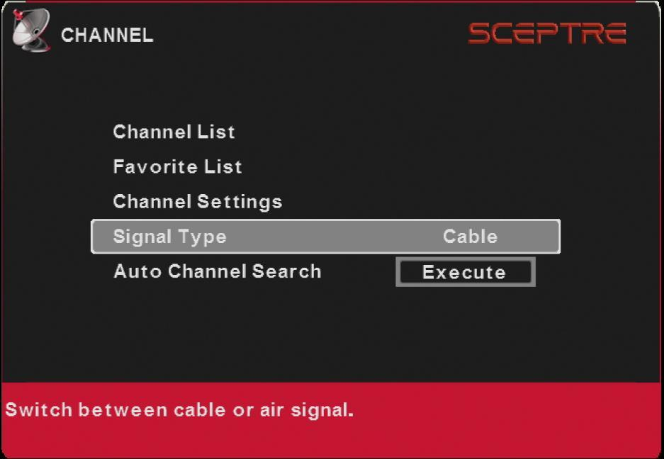 Select HOME MODE. 4. Press the button on the side of the HDTV or the SOURCE button on the remote control and select the correct source according to the Connecting pages.