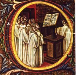 2 Gregorian chant The Christian Church in the Middle Ages disapproved the use of music as simple entertainment, for singing or dancing, because they thought these actions reminded the new Christians