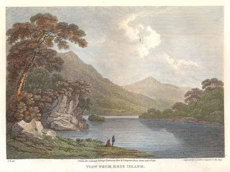 RARE LARGE PAPER COPY WITH FINE HAND-COLOURED PLATES 326. WELD, Isaac. Illustrations of the Scenery of Killarney and the Surrounding Country.