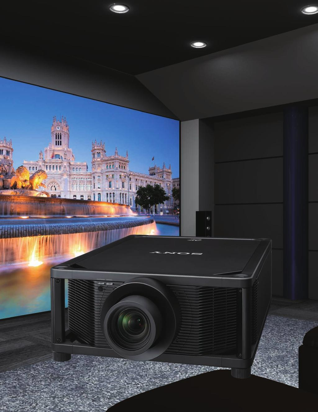 VPL-VW5000ES The World s Most Advanced 4K Home
