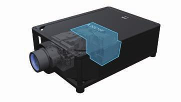 User-friendly Functions Quick turn On/Off The laser projector can be turned on and off quickly.