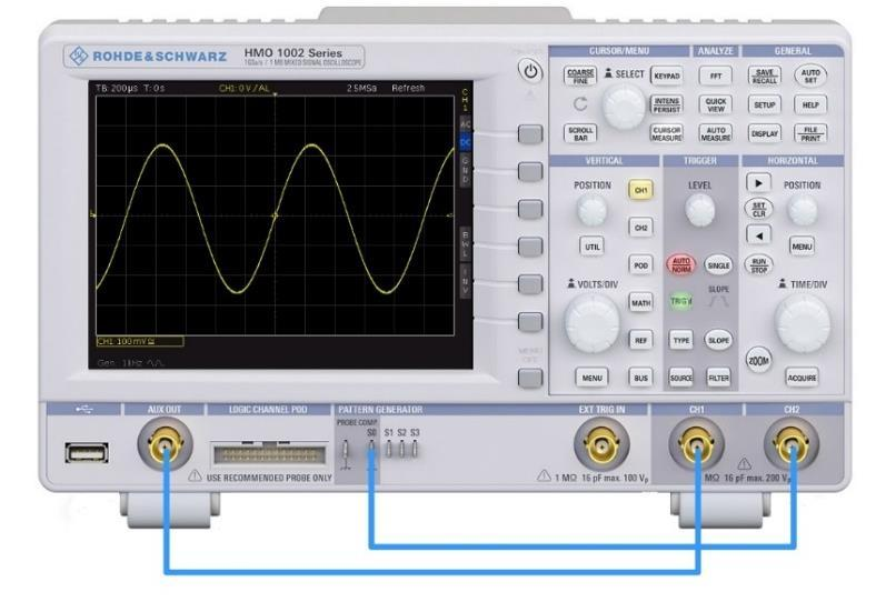 Documentation and storage 4 Documentation and storage This chapter provides a practical introduction into the documentation of oscilloscope measurements.