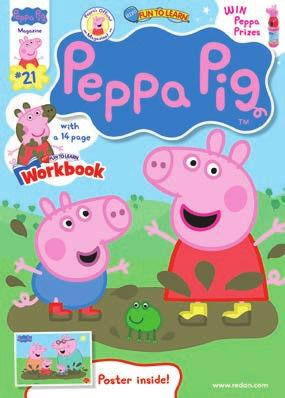 Fun To Learn Peppa Pig TM Rate Base: 28,000* Profile: Boys & Girls 2+ and activities featuring Peppa Pig and friends.