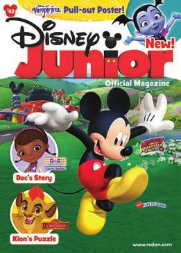 Disney Titles Redan s Disney children s magazines feature the hottest characters for children with 100% paid circulation.
