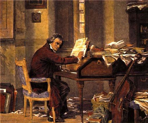 Ludwig Van Beethoven 1770 1827 Intense family pressure to become a prodigy (child star), particularly from his father.