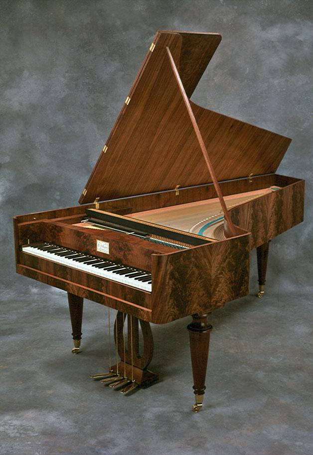 Instrumentation the fortepiano The fortepiano was the instrument