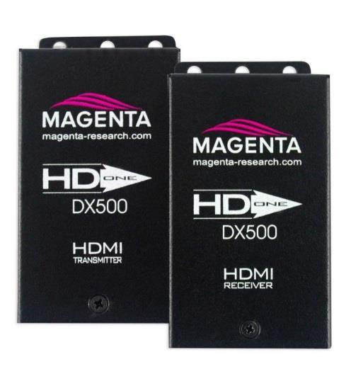 HD-One DX/DX500 HDMI