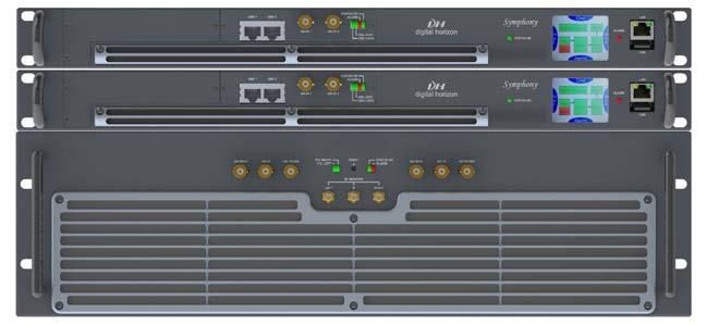 Model: is the most outstanding last engineering achievement from Digital Horizon. In a compact 3+1U Rack, and with 2 power supplies delivers up to 900W rms of high efficiency Digital output power.