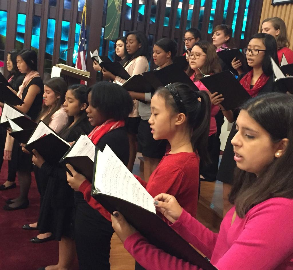 HOUSTON GIRLS CHORUS Activities High-quality vocal instruction in a variety of musical styles, training in vocal technique, instruction in music theory and performance practice, and diverse