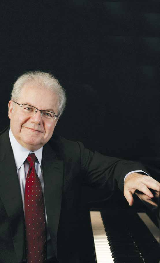 EMANUEL AX Tuesday, December 6, 2016, 7:30 pm Photo: Lisa Marie Mazzucco