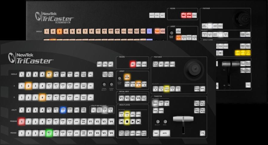 o o TriCaster LC-11: A discussion of the primary control surface designed for use with the standard definition model TriCaster Studio and TriCaster Broadcast live production systems.