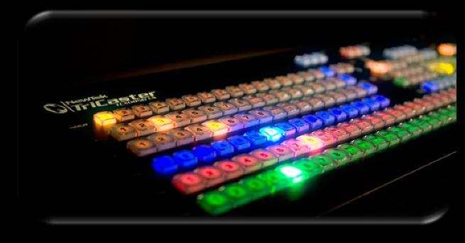 2 WELCOME AND SETUP This chapter introduces the different control surfaces offered by NewTek, helping you to see how they complement your TriCaster and bring added ability to your production setup.