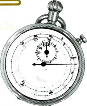 Single dial reference for both minutes and seconds retains the mechanics familiar to Radio and