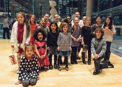 THE YOUNGEST AUDIENCE MEMBERS A NEW GENERATION DISCOVERS OPERA Vanessa Smith Think that opera is only for adults? Think again!