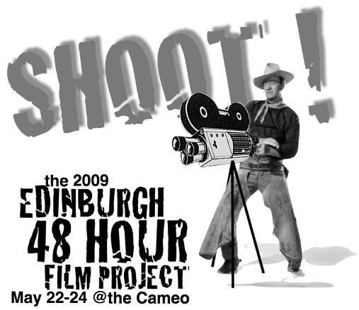 news WORLD S LARGEST FILM COMPETITION RETURNS TO EDINBURGH IN MAY After a rousing 2008 success, the 48 Hour Film Project (48HFP), the world s largest film competition, will return to Edinburgh s