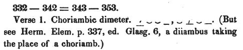 "1834b-63: Showing a specimen of U+2B94 METRICAL SHORT OVER LONG OVER TWO SHORTS (second line before ""acatalecta"")."