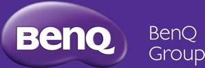 BenQ English 3D Lock-up Logo is also supplied as Mono (Black and White) Purple (P) White and/or Purple background CMYK BenQ_Grp_En_3D_P_CMYK.
