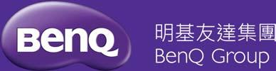B 01.11 The BenQ Logo and Company Name BenQ Bilingual 3D Lock-up Logo Variations BenQ Bilingual 3D Lock-up Logo BenQ Bilingual 3D Lock-up Logo has been designed in colour for use on the following