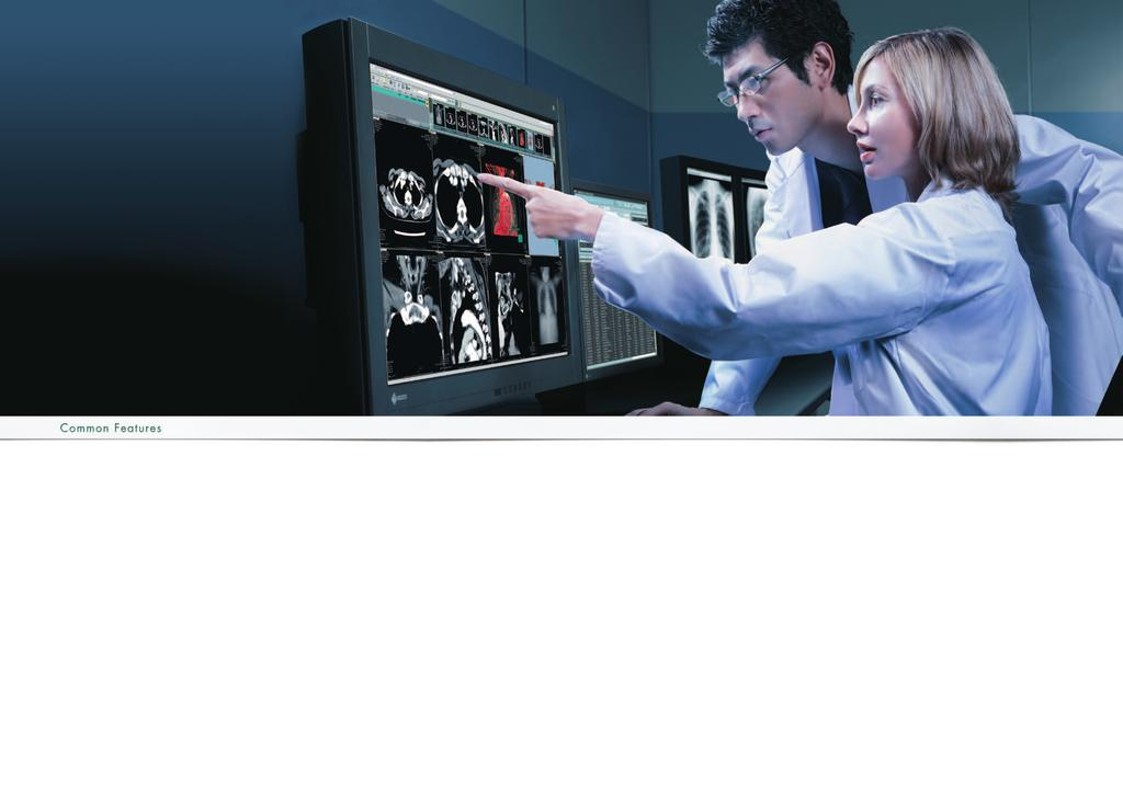 Medical Monitor Solutions RadiForce specially designed 1 to 8 megapixel monochrome and color