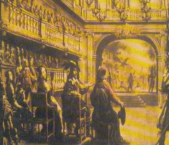 French Influence Cardinal Richelieu s Theatre, at the Palais-Royal,
