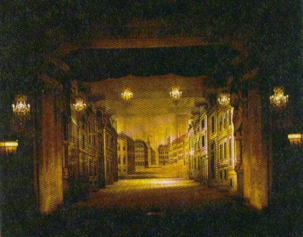 King Louis XIV -Artificial Lights were used