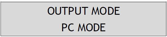 PC/AV Mode Press and hold Button 2 for few seconds, then you can switch the Scaler between PC and AV