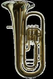 Tenor tuba Three valves TUBA Big family