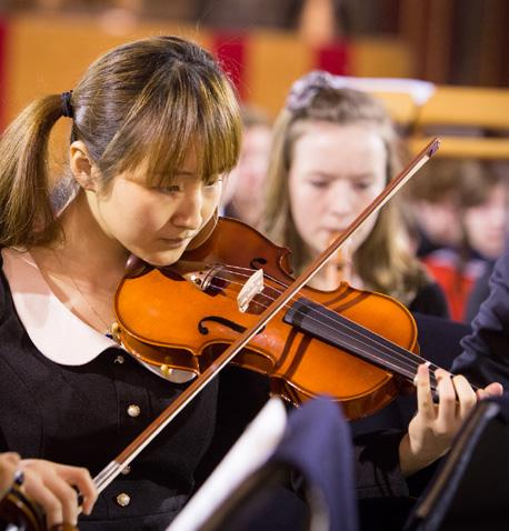 CONCERTS We welcome many world-leading musicians as part of our annual concert series, creating many opportunities for our pupils and visitors to learn from the best.