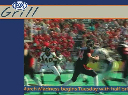 Customer Profile - Fox Sports Grill Fox Sports Grill Chooses Harris InfoCaster Expect the unexpected is FOX Sports Grill s (FSG s) apt slogan for its upscale sports restaurants aimed at sports
