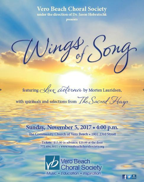 Wings of Song *Vero Beach